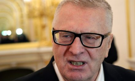 Russias Trump, Vladimir Zhirinovsky, Wants to Build a Wall, Ban Muslims, and also Nuke the White House