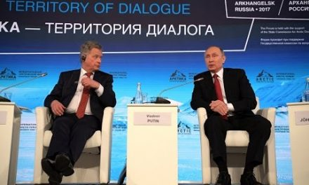 VladimirPutin The Arctic: Territory of Dialogue global discussion forum