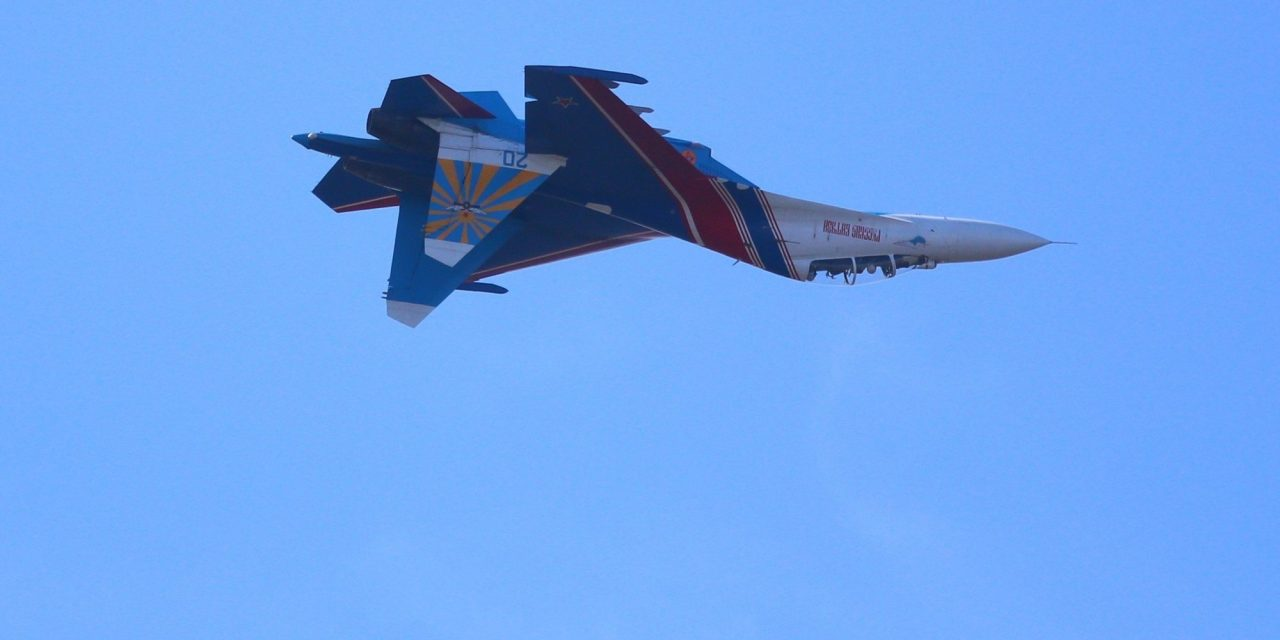 Russian Fighter Barrel Rolls Dangerously Close To U.S. Plane