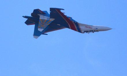 Russian Fighter Barrel Rolls Dangerously Close To U.S. Plane