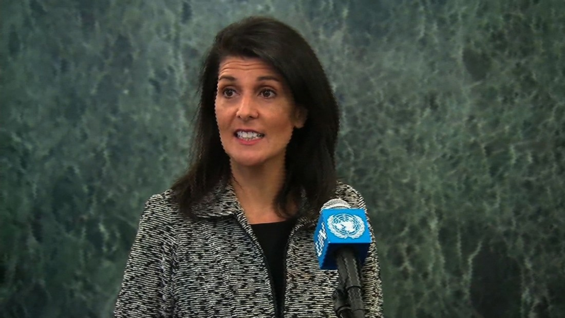 UN Ambassador Haley hittings Russia hard on Ukraine