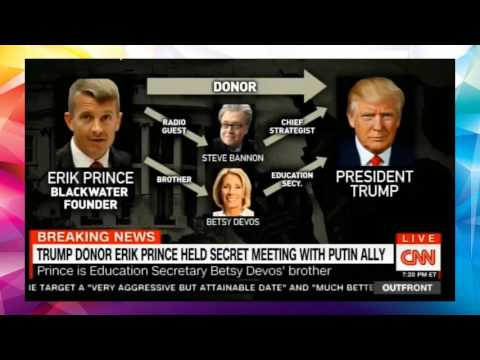 Trump Donor Erik Prince Held Secret Meeting with Putin Ally