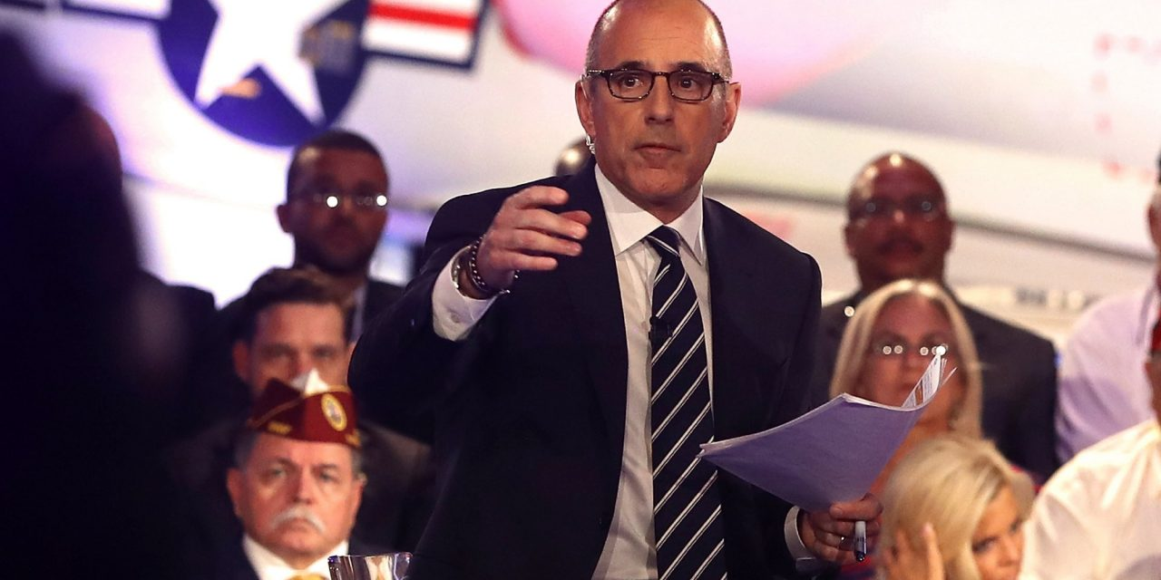 What in the World Got Into Matt Lauer at the Commander- in-ChiefForum?