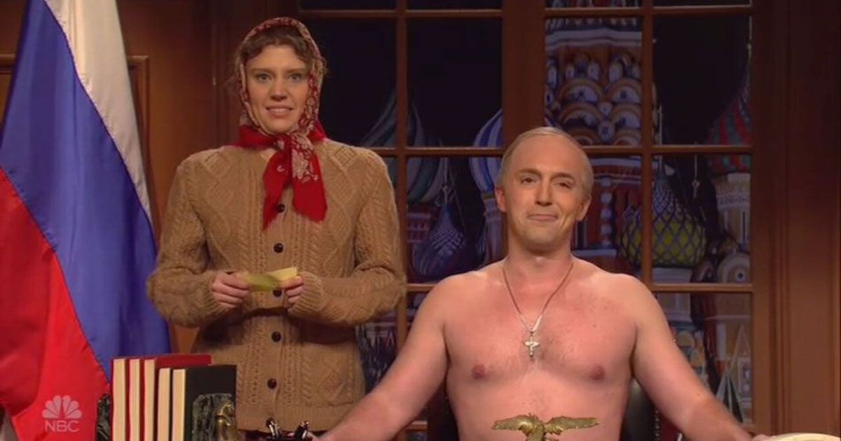 SNL chilly open: Shirtless Putin's obtained this, everyone