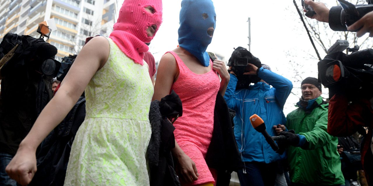 Pussy Riot Reminds Americans They Can 'LiveAnd Create In Prison'