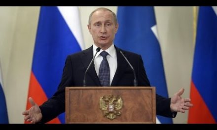 PUTIN COMPARES SYRIA STRIKE TO IRAQ WAR