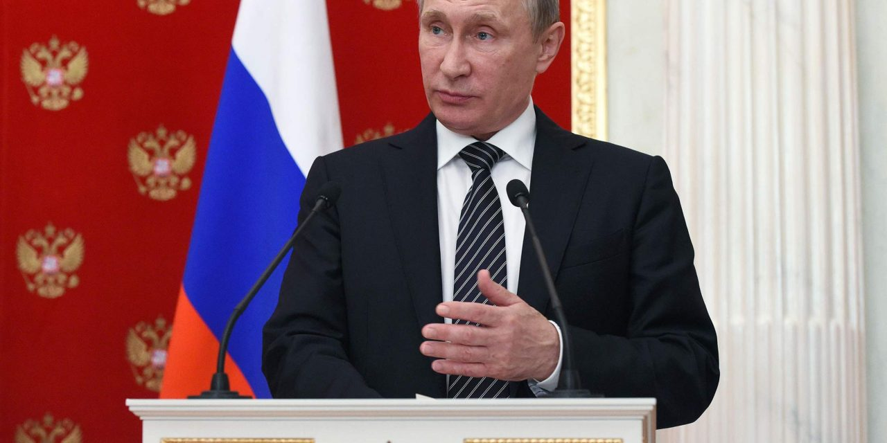 Putin Accuses Ukraine of Terror as Crimea Tensions Escalate