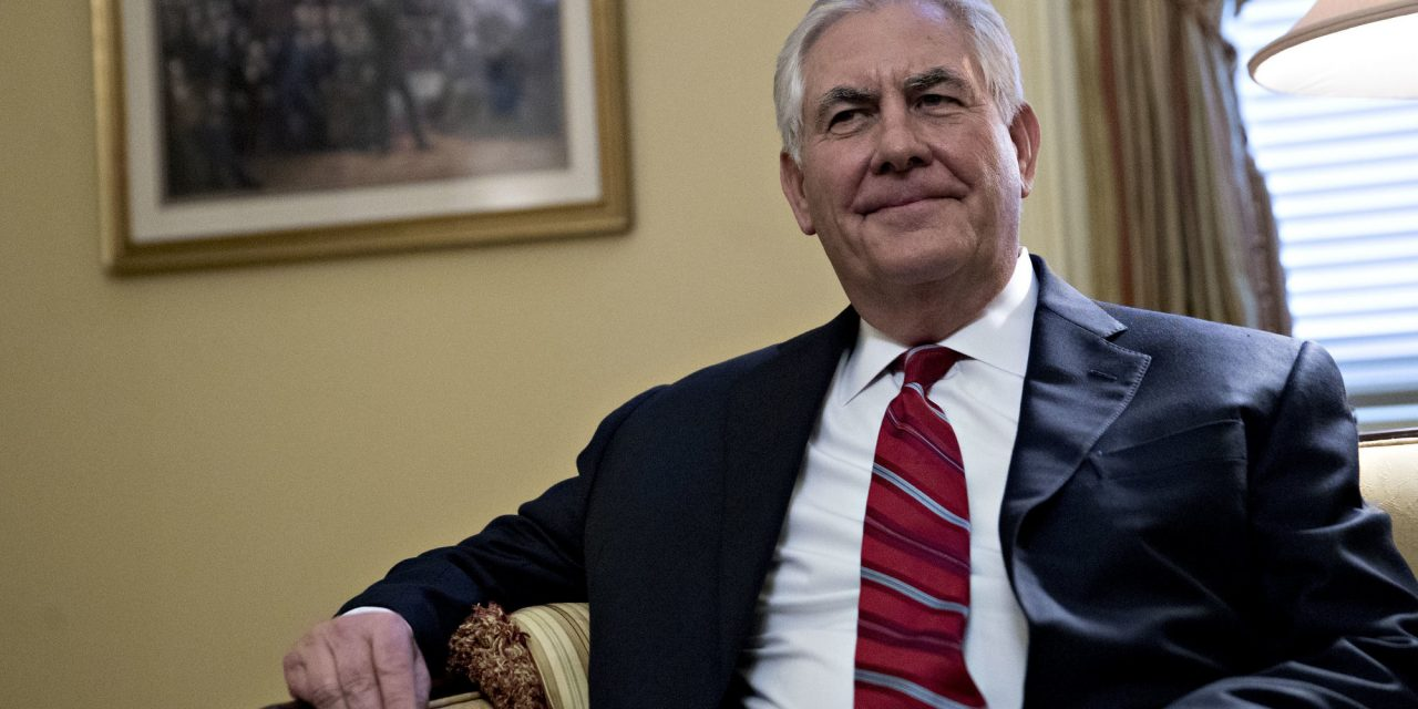 Trump's Pick For Secretary Of State Tries To Allay Senators' Concerns About His Russia Ties
