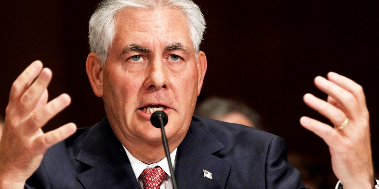 Four Reason Tapping Rex Tillerson as Secretary of State Is a Terrible Idea