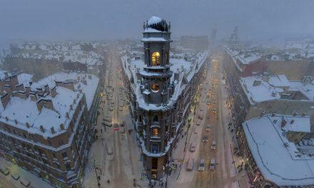 Magical tower, St Petersburg