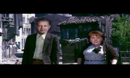 Tayyip vs Merkel obama, putin, trump çok komik