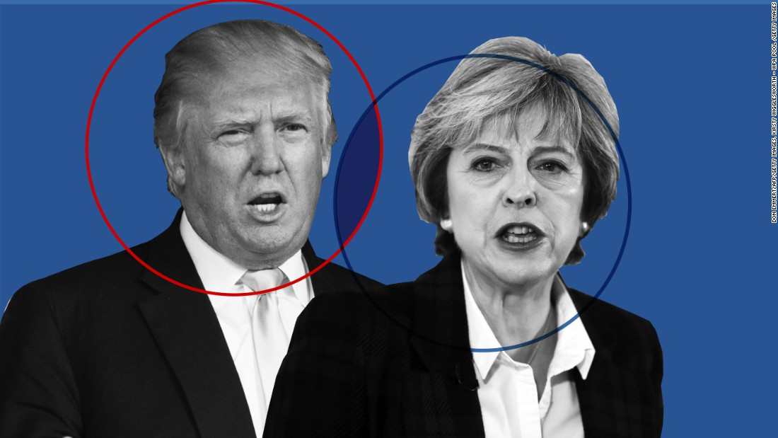 Donald Trump as well as Theresa May: Another 'unique connection'?