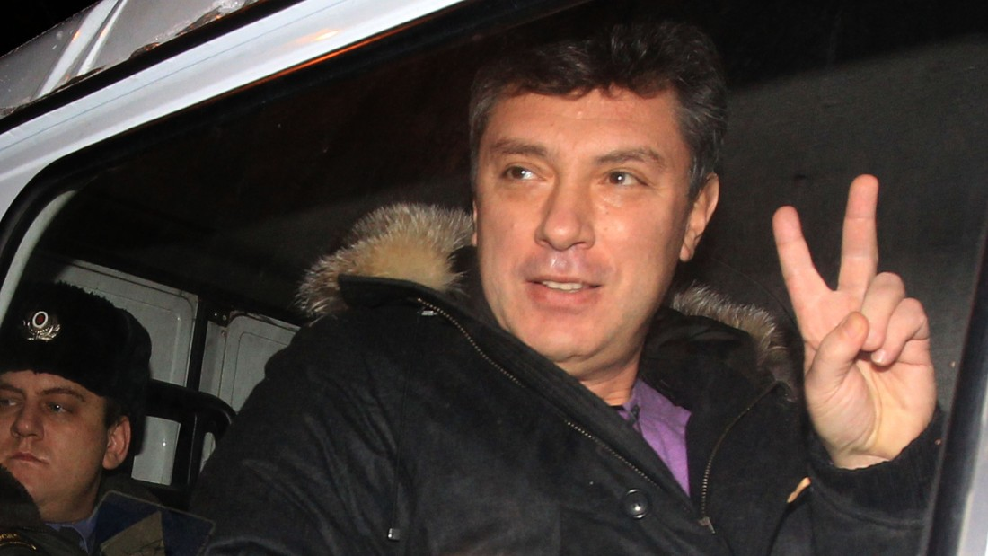 Russian militants note wedding anniversary of Boris Nemtsov's fatality