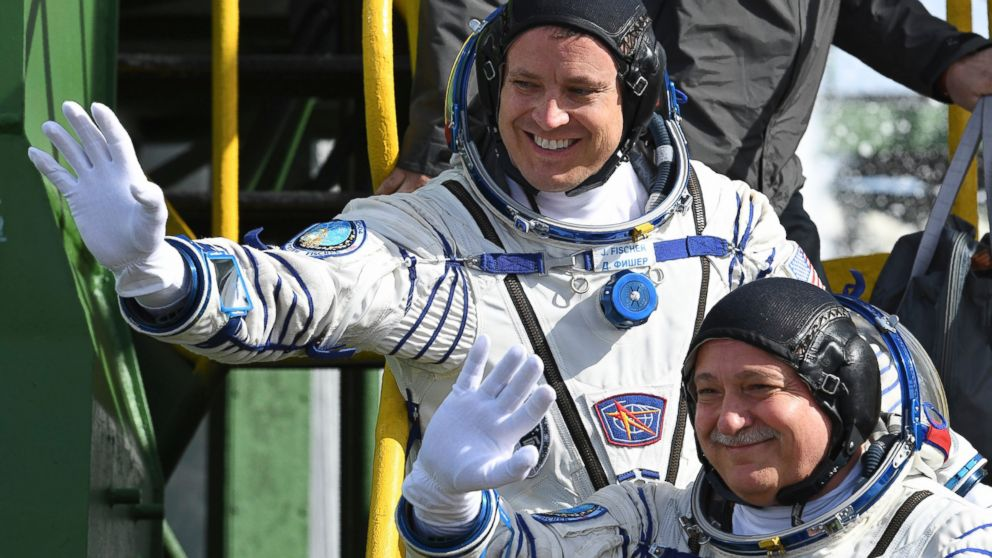 American, Russian shown up right here International Space Station – ABC News
