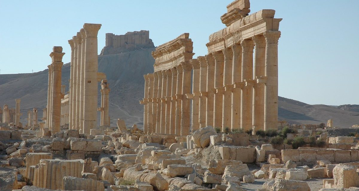 Syrian pressures get in Palmyra in fight with Isis, informs country TELEVISION