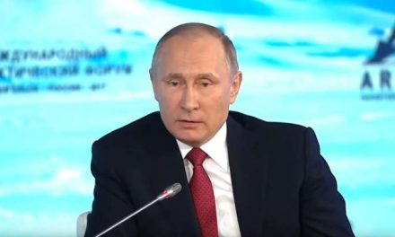 Climate Change Is Real But Good Says Putin Because We're All Doomed Anyway