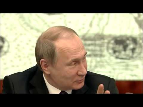 BREAKING NEWS Putin says he's going to consume the USA.
