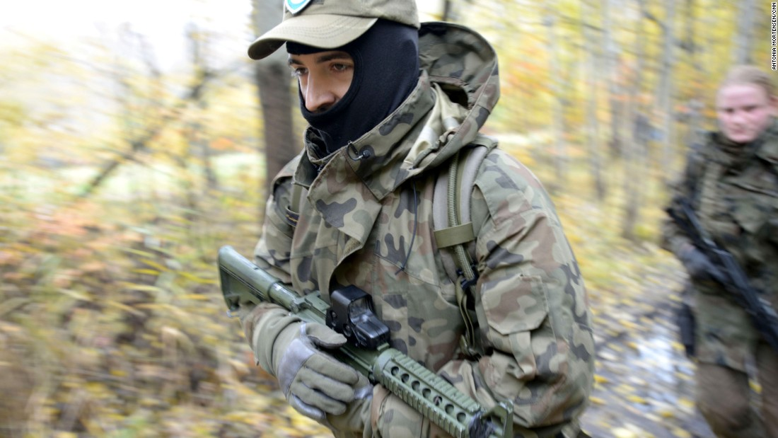 Poland's militias 'able all for the rest' alveolar emerging tensions added to Russia