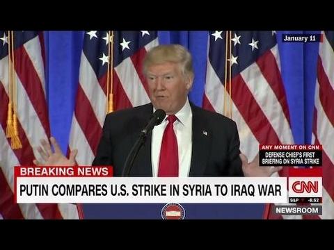 President Donald Trump's love hate partnership with Russia & & Putin