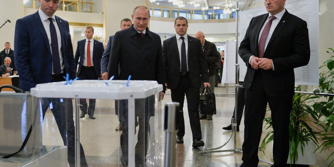 Putin Claims Victory for Ruling Party in Parliamentary Vote