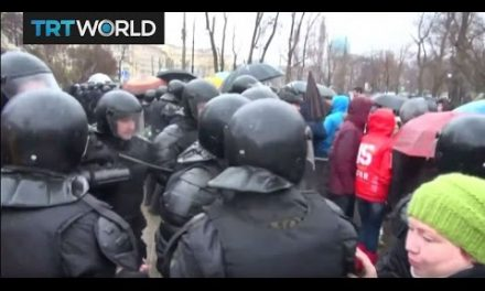 Russia Protests: Dozens apropos of anti-Putin protesters detained