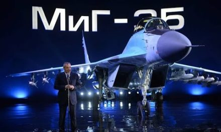 IMPRESSIVE: MIG Officials Report to Putin on New Fighter MIG-35(ENG SUB)
