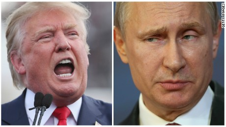 Trump motivates Putin, America's adversary
