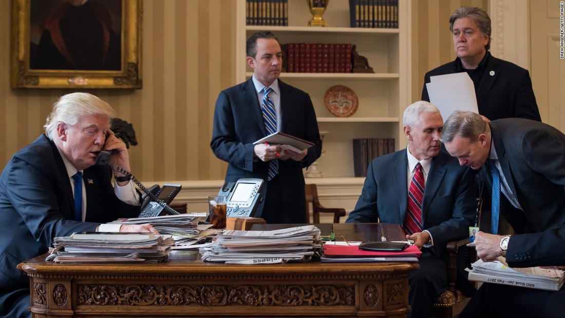 Inside the White House, fear as well as discontent amongst leading workers