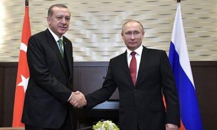 Cumhurba şkanı Erdo ğan ve Putin bir araya geldi