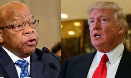 Trump claims Civil Rights symbol John Lewis takes 'no activity,' Twitter releases heck