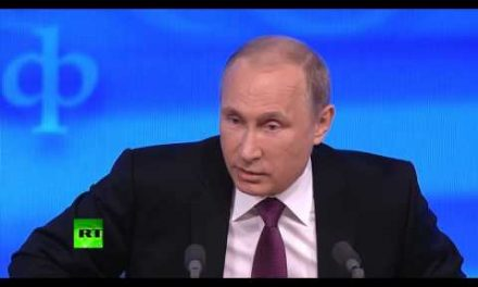 Vladimir Putin: West wish to chain the bear.