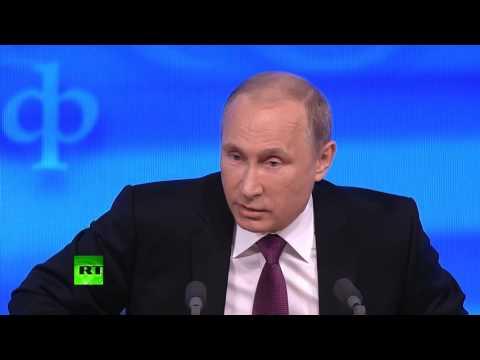 Vladimir Putin: West wish to chain the bear.