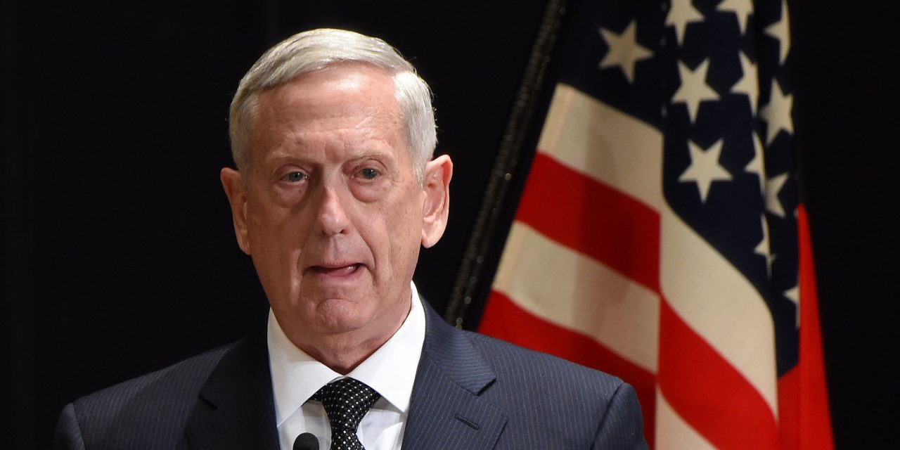 Trump's Defense Chief: We're Not In Iraq To Confiscate Anybody's Oil