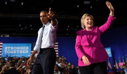 Hillary Clinton's day of dramatization