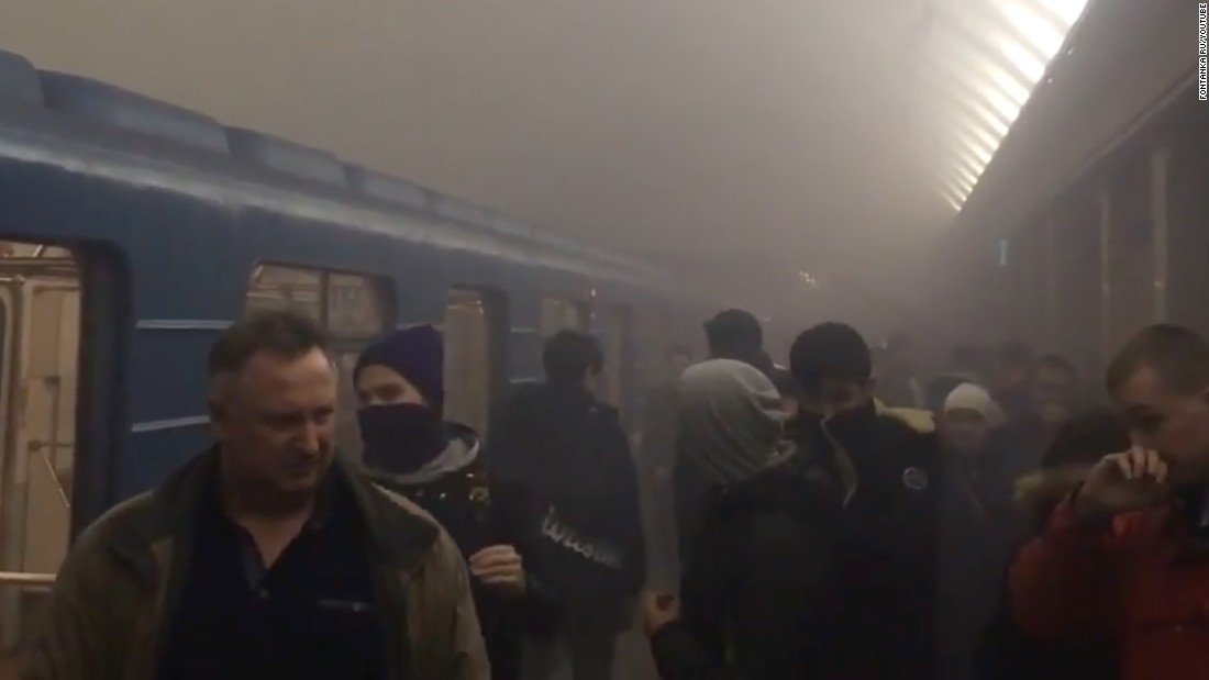 St. Petersburg city surge: At the very least 11 dead in Russia blast