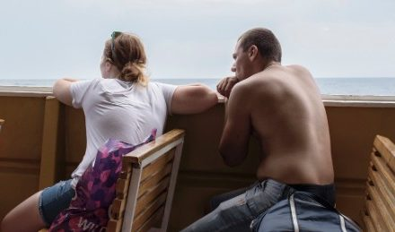 What tourist resembles in Crimea