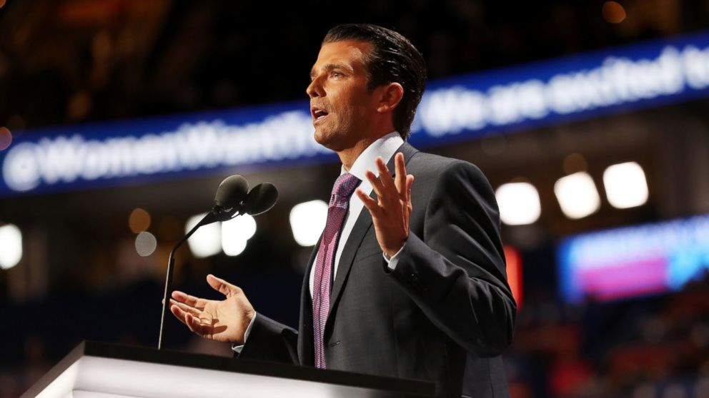 Donald TrumpJr Was Paid At Least $ 50,000For Event With Group Connected to Russian Government