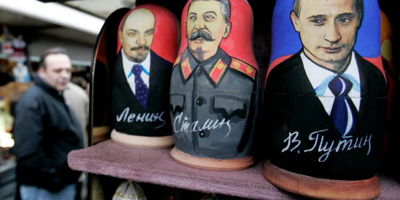 Putins New Rival: Stalin