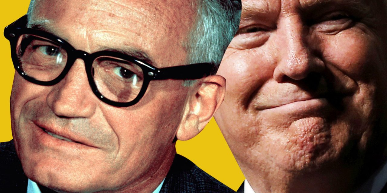 Compared to Trump, Goldwater Was a Sensible Moderate