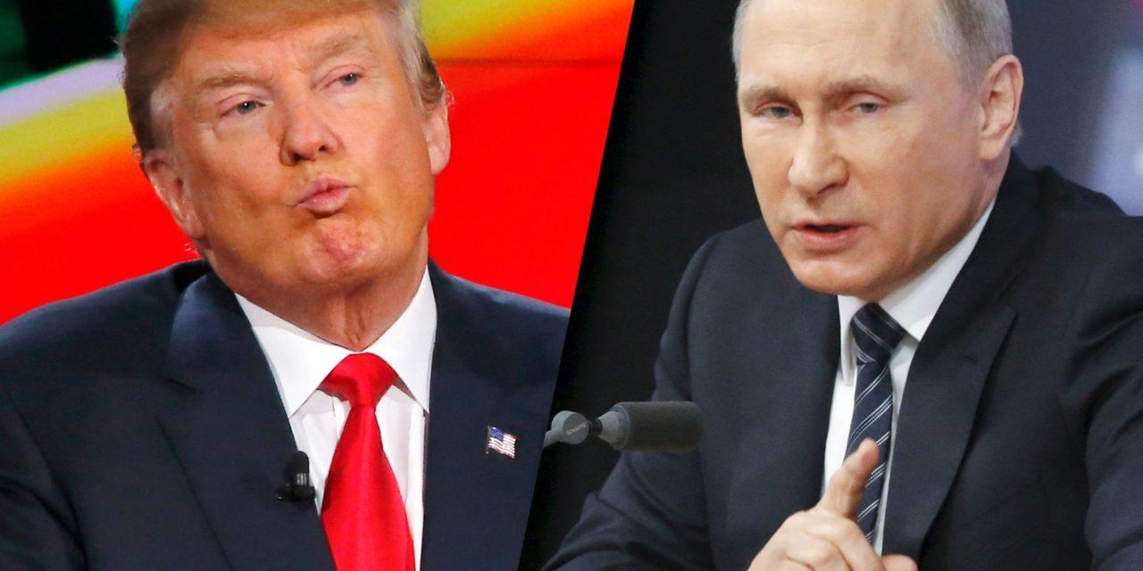 Donald Trumps Role Model? VladimirPutin