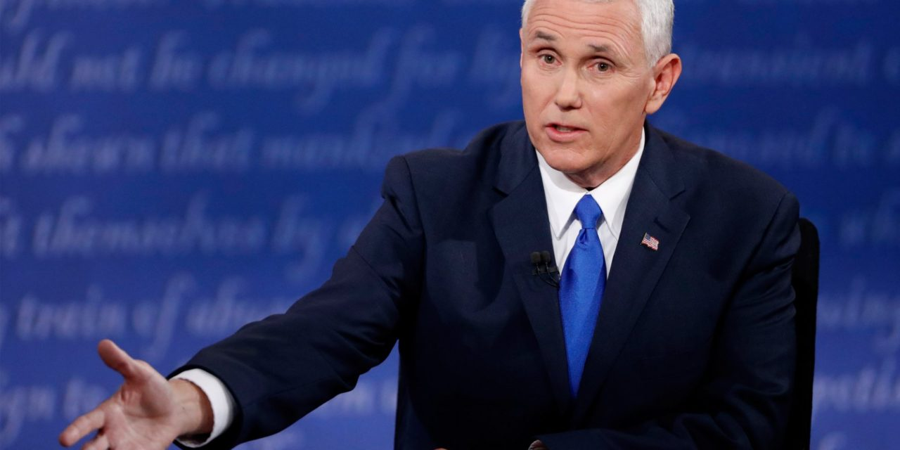Mike Pence Pinky-Swears: Trump as well as I Will Stand Up to Putin