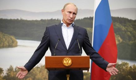 Is Putin having fun West for a wag in Syria?