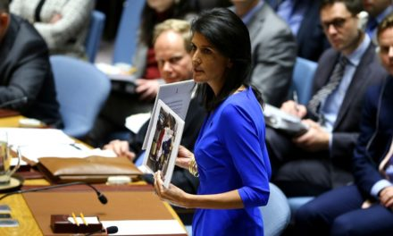 United States agent Nikki Haley states Syria program adjustment is unavoidable