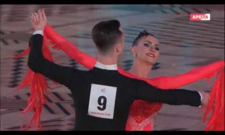 Kremlin Cup 2017 in ballroom dance. EuropeanProgram Fnal|| ae a. yo pe. a