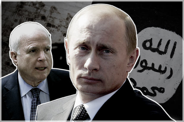 John McCain expects Vladimir Putin is a better risk compared to ISIS: Hello, legislator– the globe is phone call – Salon