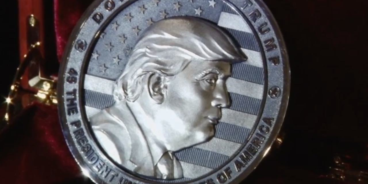 Russians Mint 'InTrump We Trust' Coin Ahead Of Inauguration