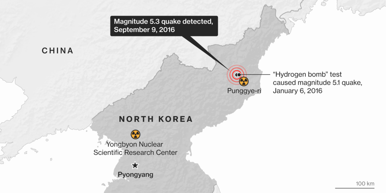 North Korea Says Tested Nuclear Bomb, Can Miniaturize Arms