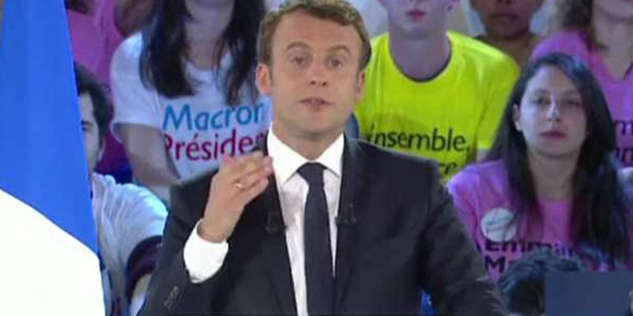 Emmanuel Macron success French governmental political election over opponent Marine Le Pen