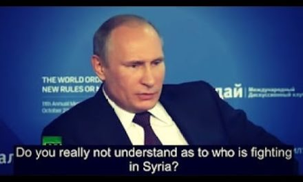 Breaking NEWS – Putin Explains How Obama Created I.S. I.S