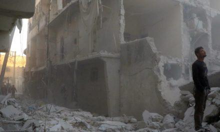Air Strikes Pummel Aleppo After Weeks Of Relative Calm